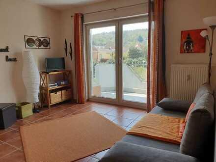 Hübsche 1-Zimmer-Wohnung mit Balkon in Bammental - nur 12 min nach Heidelberg