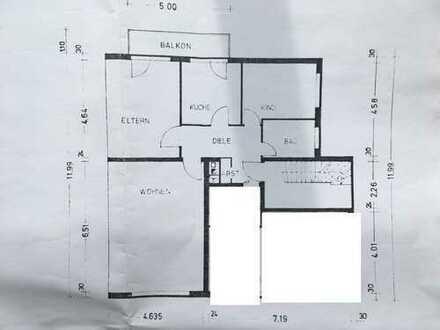 Schöne, helle drei Zimmer Wohnung in Köln, Dünnwald