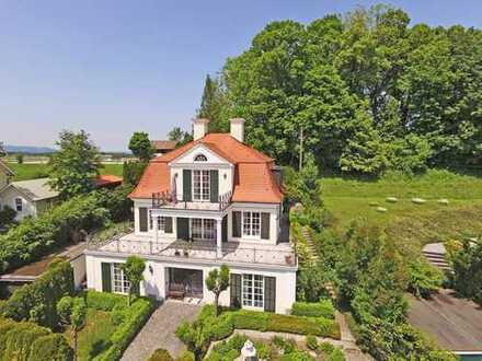 Villa im klassizistischen Jugendstil am Staffelsee
