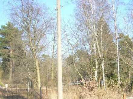 Traumhaft ruhig - ein idyllisch gelegenes vorderes Baugrundstück in Falkensee - Waldheim