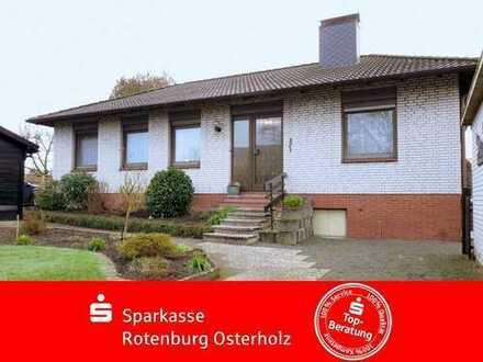 Löhnhorst: Freistehender Bungalow mit Teilkeller und Garage in ruhiger, gefragter Wohnlage