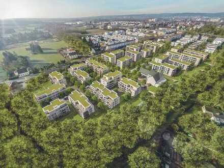 Komfortable 3-Zi.-Wohnung mit 2 Bädern und Balkon in grüner Umgebung nahe Frankfurt/Main