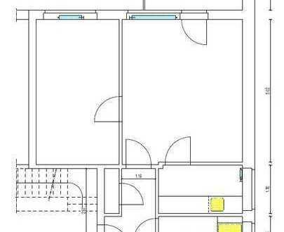Provisionsfrei! Kapitalanlage 2-Zimmer Wohnung 52 qm Alsdorf-Schaufenberg
