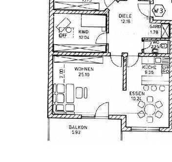 Gepflegte 4-Zimmer-Wohnung mit Balkon in Massing --PROVISIONSFREI--