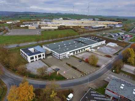 ***VERKAUF in Brilon - vielseitig nutzbare Büro- und Produktionshallen mit Baulandreserve***