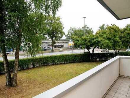 Garstedt HC - 1 Zi-Whg - zentral, grün, Balkon, Parkplatz, ideal für Pendler