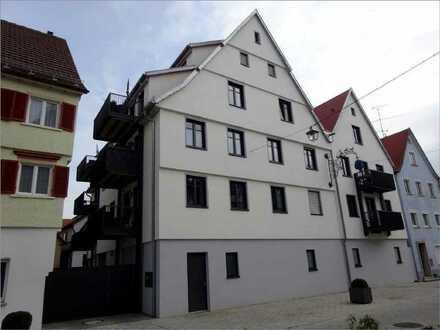 Aufgepasst! Neuwertig, modern und barrierefrei! Zwei-Zimmer-Wohnung zentral in Munderkingen