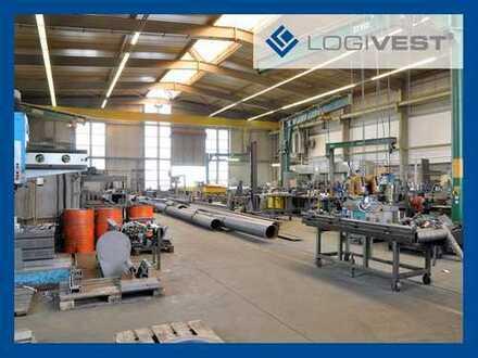 Neubau einer Produktions- und Betriebsstätte