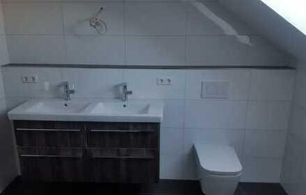 Erstbezug: attraktive 4,5-Zimmer-DG-Wohnung mit EBK und Balkon in Wäschenbeuren