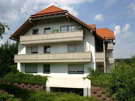 Appartement mit Balkon und herrlicher Aussicht
