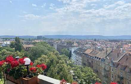 Gepflegte 3 ZKB-Eigentumswohnung (10.OG) mit Balkon und Stellplatz in der Südweststadt!
