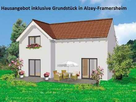 NEUBAU WaBau 3-Giebel-Haus inklusive Grundstück in Alzey-Framersheim
