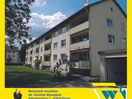 Sehr gepflegte 2-Zimmer-Wohnung mit herrlichem Bergblick und Südbalkon in guter Wohnlage