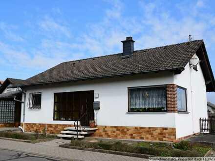 Einfamilienhaus auf großem Grundstück mit herrlicher Fernsicht