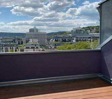 Mega Aussicht Dachgeschoss Neuausbau. Sofortbezug