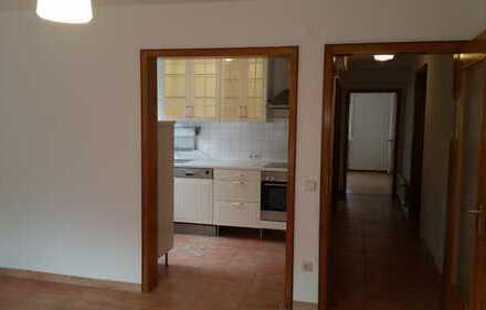 Gepflegte 2-Zimmer-Erdgeschosswohnung mit Terrassen und EBK in Bretten-Büchig