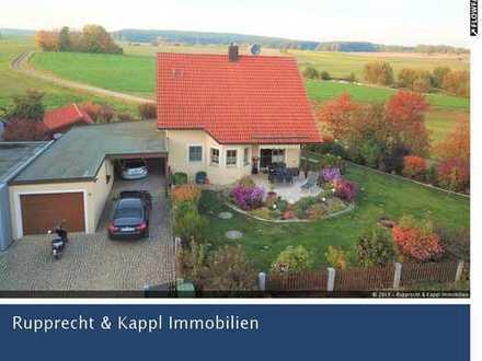 Modernes Einfamilienhaus mit Kachelofen in Marktredwitz