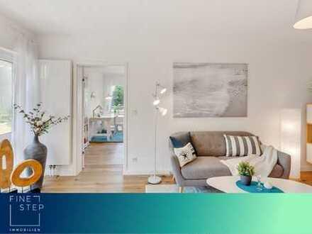 Renoviert und bezugsfertig: Sehr helle und schöne 4-Zimmerwohnung mit großem Süd-West-Balkon