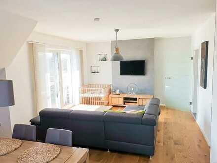 Exklusive 5-Raum-Maisonette-Wohnung mit Einbauküche und Balkon am Klostersee