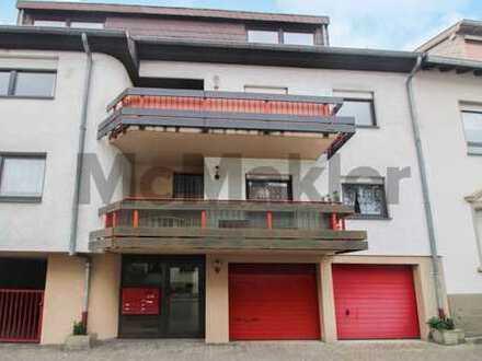 Waldnah in Dudweiler: 3-Zi.-Whg. mit Dachterrasse und Gestaltungspotenzial