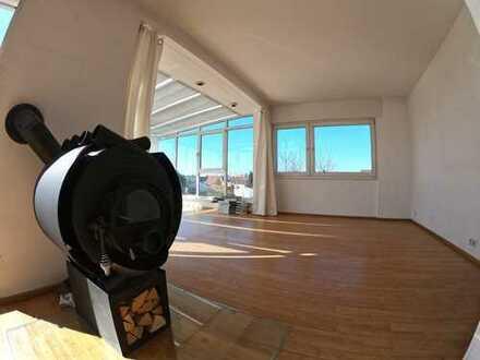 Gepflegte 5-Zimmer-Penthouse-Wohnung mit großer Terrasse/Wintergarten in Mörfelden-Walldorf