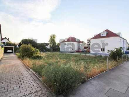 Attraktives Baugrundstück in Ingolstadt! Bebauung von 2 Mehrfamilienhäusern möglich!