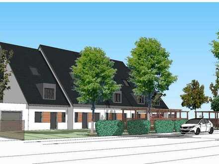 Großzügiges baureifes Grundstück mit Bauplänen & Baugenehmigung für 5 Reihenhäuser in Top Lage