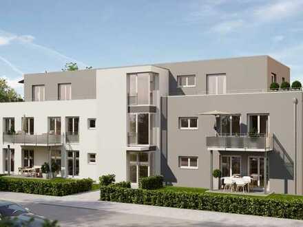 Erstbezug mit Einbauküche und Balkon: exklusive 2-Zimmer-Wohnung in FR-St. Georgen