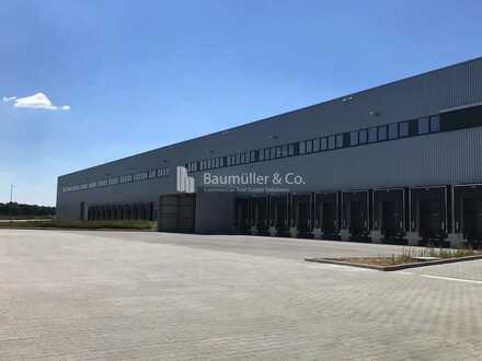 """BAUMÜLLER & CO."" - 20.000 m² NEUBAU Logistik - moderne Lagerhalle - Sehr gute Anbindung"