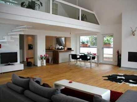 Harlaching-Menterschwaige! Repräsentative Dachterrassen-Maisonette-Wohnung