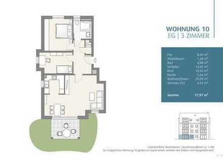 3-Zimmer Wohnung mit Garten (10)