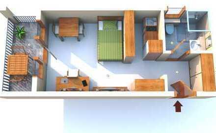 1 Zimmer Apartment HDH-Stadtmitte zu vermieten