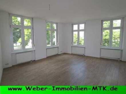 TRAUM-hafte 3 ZKB mit hohen Decken, riesigem SONNEN-Terrasse, TGL-Wannen-Bad, Gäste-WC mit Dusche