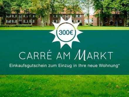 Ihr Sommervorteil - € 300 Gutschein* - frisch sanierte 3-ZW mit Gartenzugang!