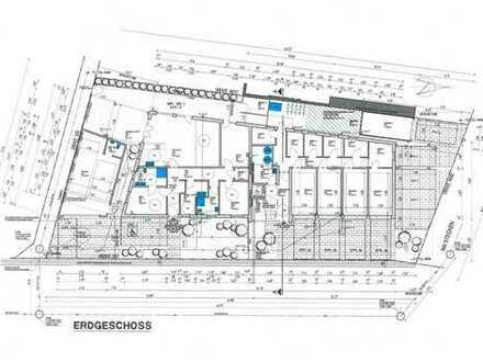 Praxis/Büro gesucht? Barrierefreie EG-WHG, moderne Ausstattung mit Terrasse u. Garten in guter Infra
