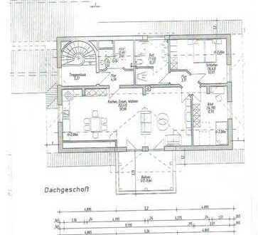 Exclusive helle 3-Zimmer Wohnung im 1.OG