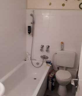 1-Zimmer-Apartment mit separater Küche, Badezimmer/WC, Diele.
