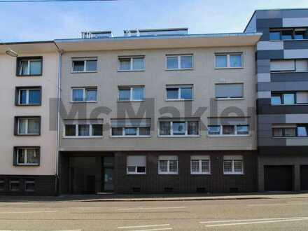 Vermietet, zentral, gepflegt: 3-Zi.-ETW in Bahnhofsnähe - ideal für Kleinanleger