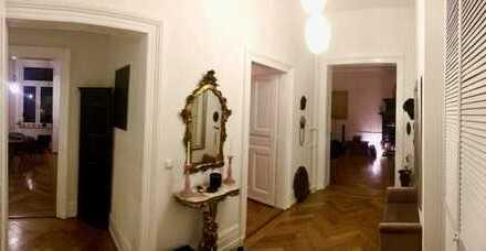 Exklusive, geräumige und neuwertige 3-Zimmer-Wohnung mit Einbauküche in Frankfurt Nordend West