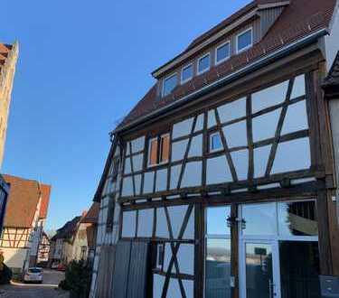 Schöne 5-Zimmer-Maisonette-Wohnung in Bad Wimpfen Altstadt mit Blick ins Neckartal