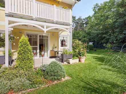 Zauberhafte Eigentumswohnung mit Garten