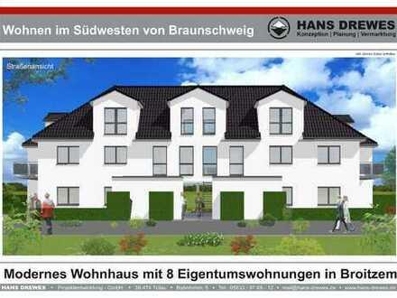 Wohnen im Südwesten von Braunschweig (WHG D im Erdgeschoss)