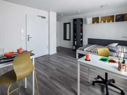 Komplett möbliertes, modernes Studentenapartment im Herzen Frankfurts (29 m²)