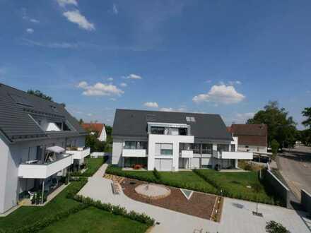 Stilvolle, neuwertige 3-Zimmer-Maisonette-Wohnung mit Balkon und EBK in Erdmannhausen