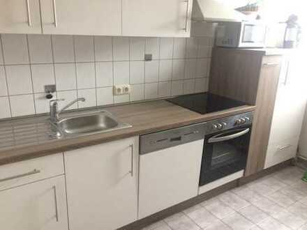 Schöne helle Studiowohnung über 2 Etagen mit Küche PKW Stellplatz u.freien Blick