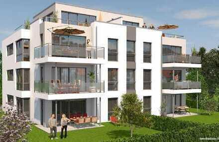 3 Zimmer Wohnung mit Einbauküche, Gartenanteil und 2 TG Stellplätzen