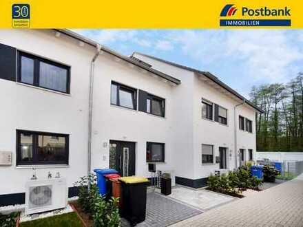 DAS WALDRAND-SUPER-NEUHAUS! RMH, ca. 120 m² WFL, Luftwärmepumpe, Garage, Garten, EBK & alles TOP!