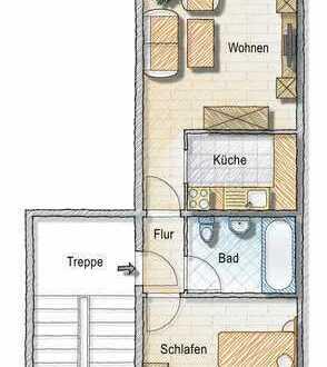 Wohnung mit Balkon und Aufzug - im grünen Wohngebiet