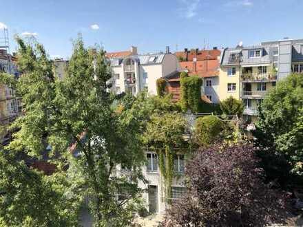 Zentrales und ruhiges Appartment mit Küchenzeile in LEHEL (Nähe Tivolibrücke)