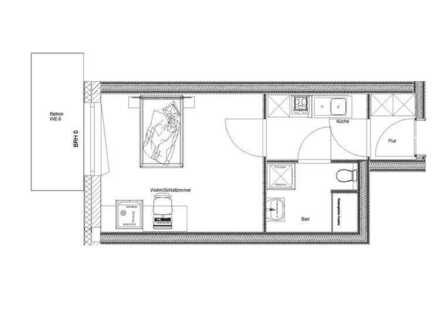 Schöne 1-Raum-Wohnung in Triefenstein / Lengfurt